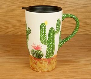 Toms River Cactus Travel Mug