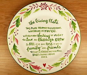 Toms River The Giving Plate