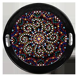 Toms River Mosaic Mandala Tray